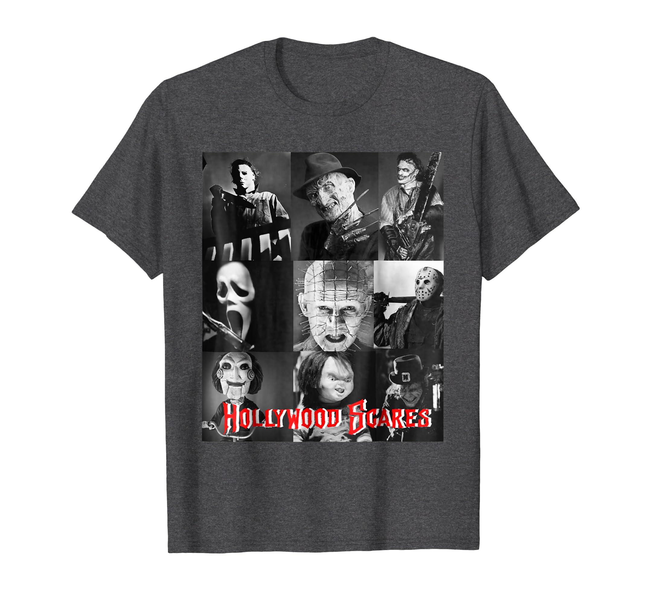 Hollywood Scares Halloween Scary Horror Shirt