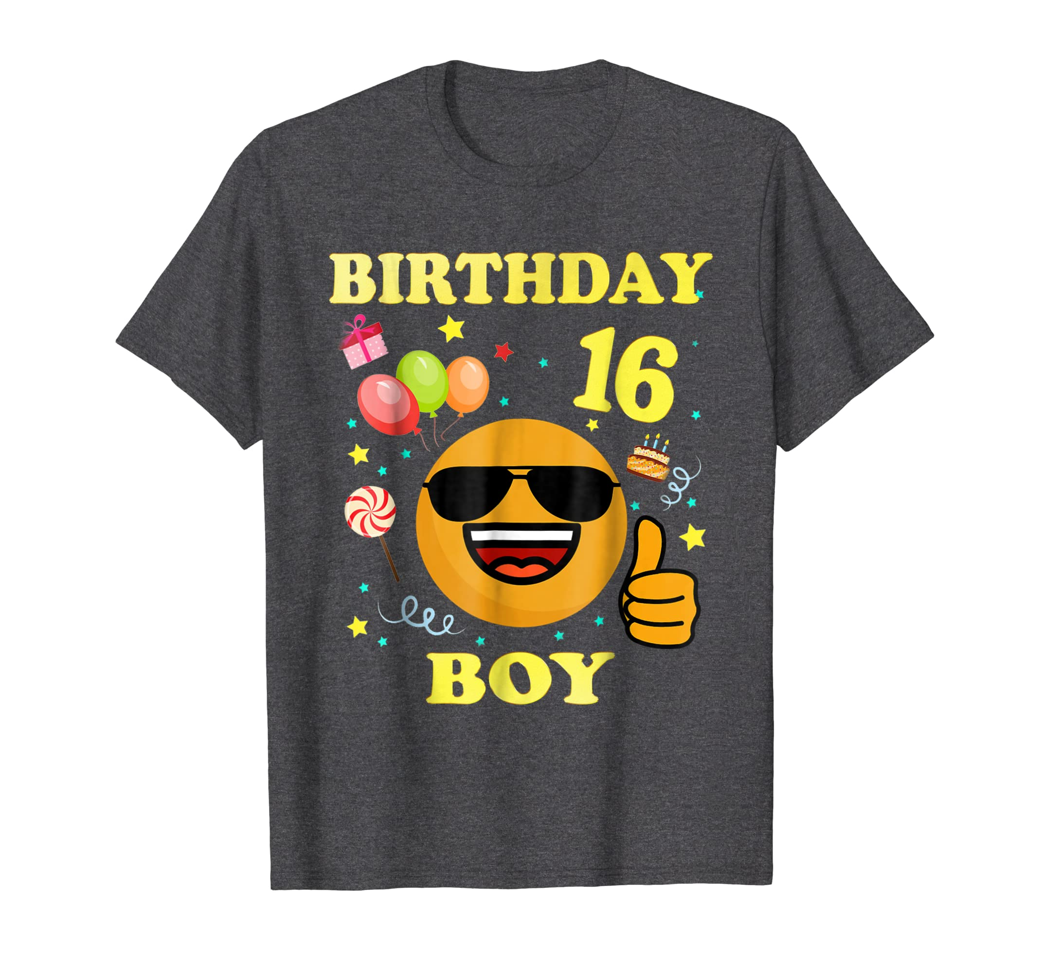 Amazon 16 Years Old Birthday Boy Shirt 16th Decorations Clothing