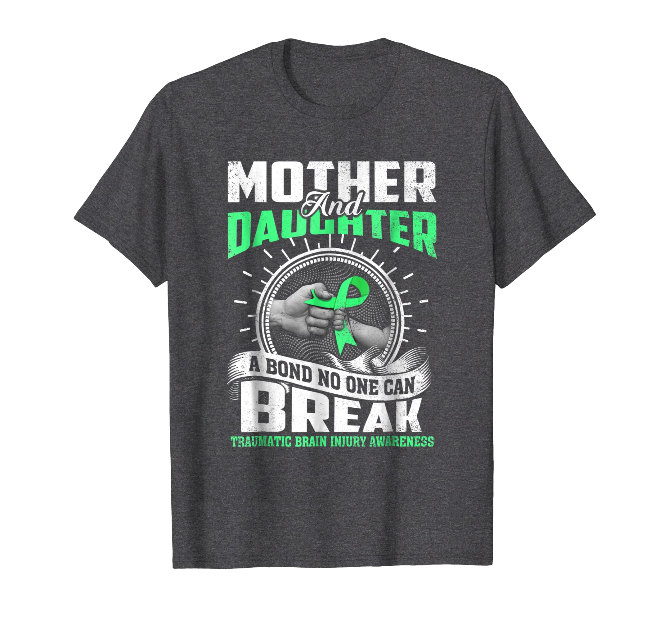 Mother and Daughter TRAUMATIC BRAIN INJURY AWARENESS Tee-SFL