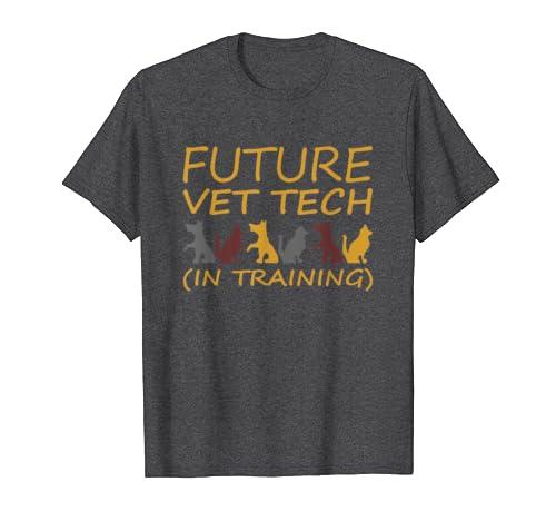 Future Vet Tech In Training Funny Veterinarian T-Shirt