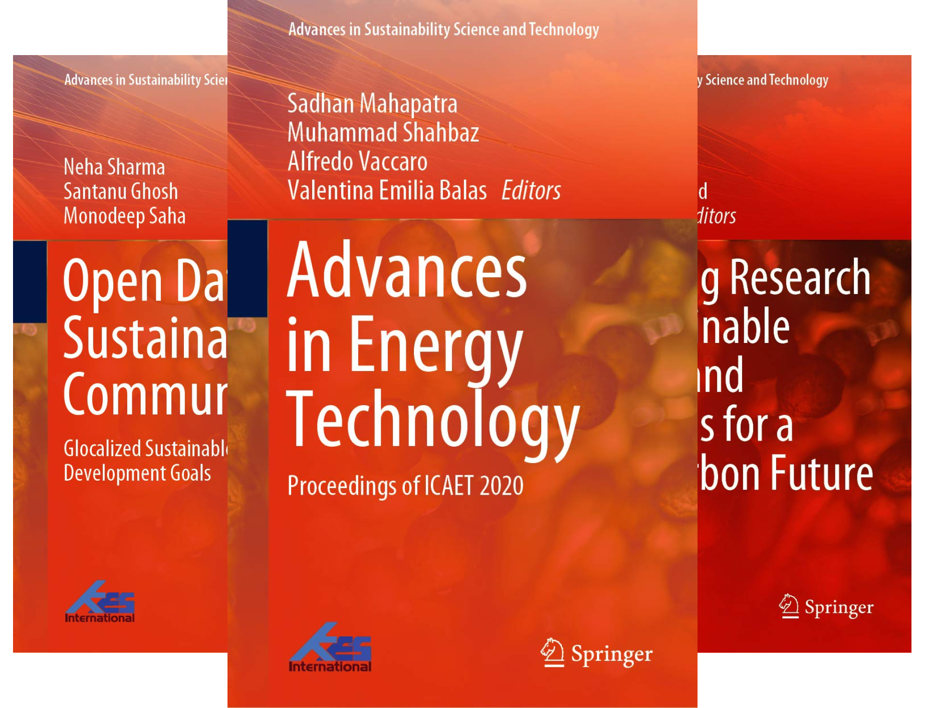 Advances in Sustainability Science and Technology (8 Book Series)