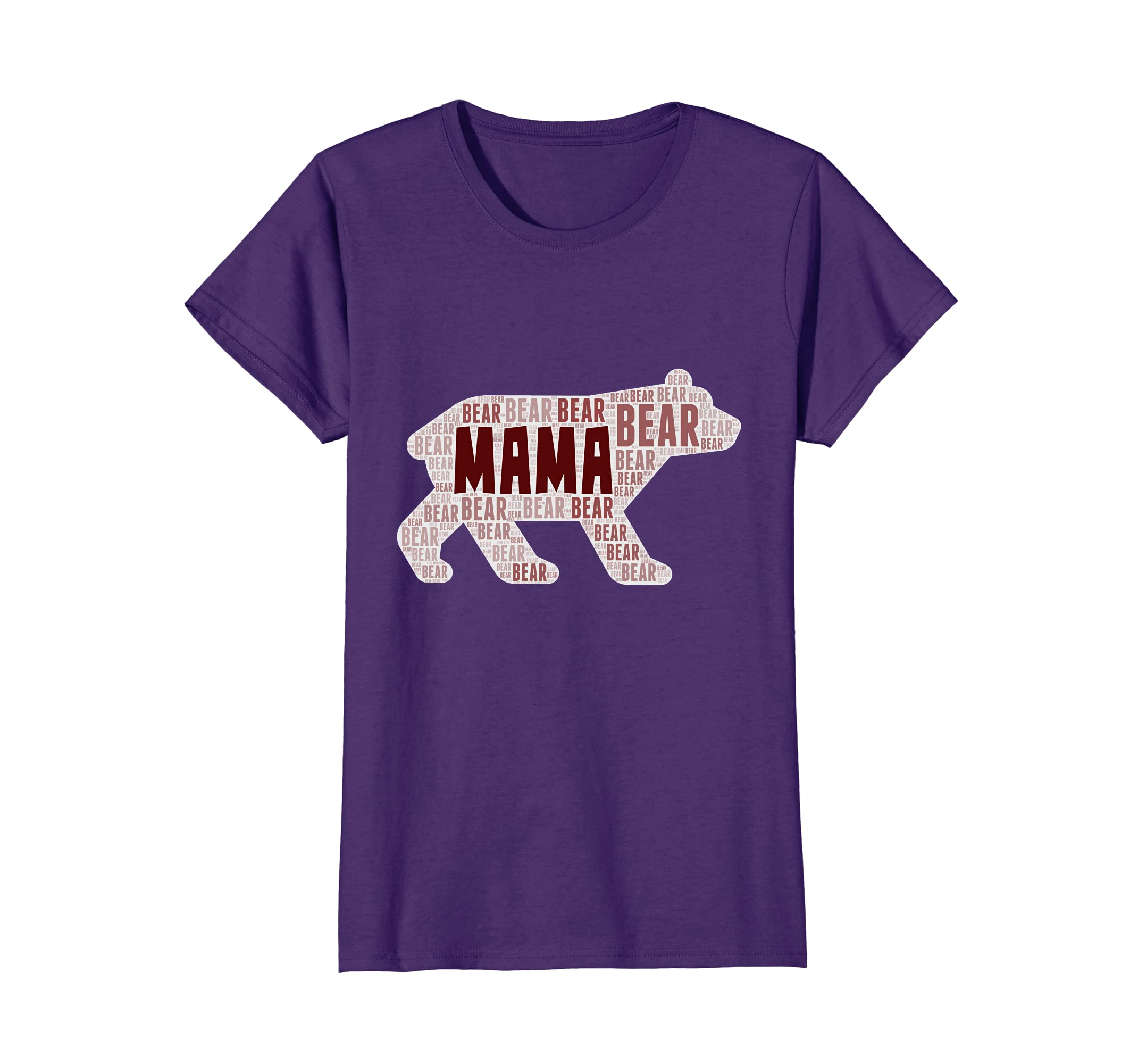 2a47b87f88a Amazon.com  Womens Mama Bear Funny T-Shirt Great For Moms On Mother s Day   Clothing