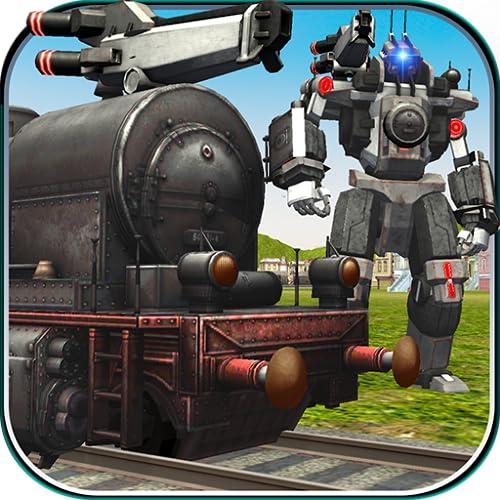 robot de motor de tren simulador de batalla de transformación: juegos de conducción 2018