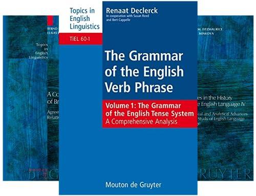 Topics in English Linguistics [TiEL] (50 Book Series)