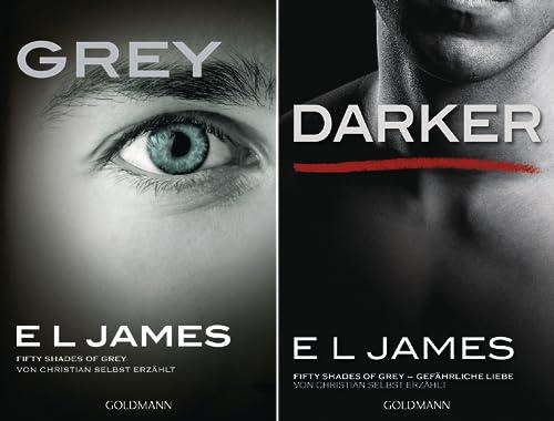 Fifty Shades of Grey aus Christians Sicht erzählt (Reihe in 2 Bänden)