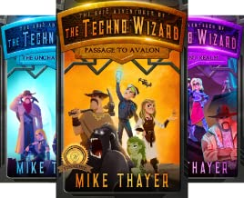 The Epic Adventures of the Techno Wizard (3 Book Series)