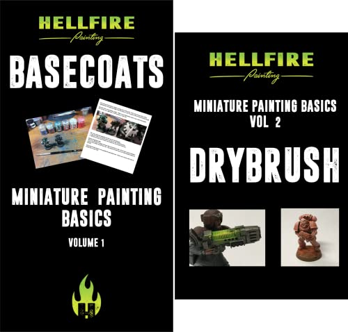 Miniature Painting Basics (2 Book Series)