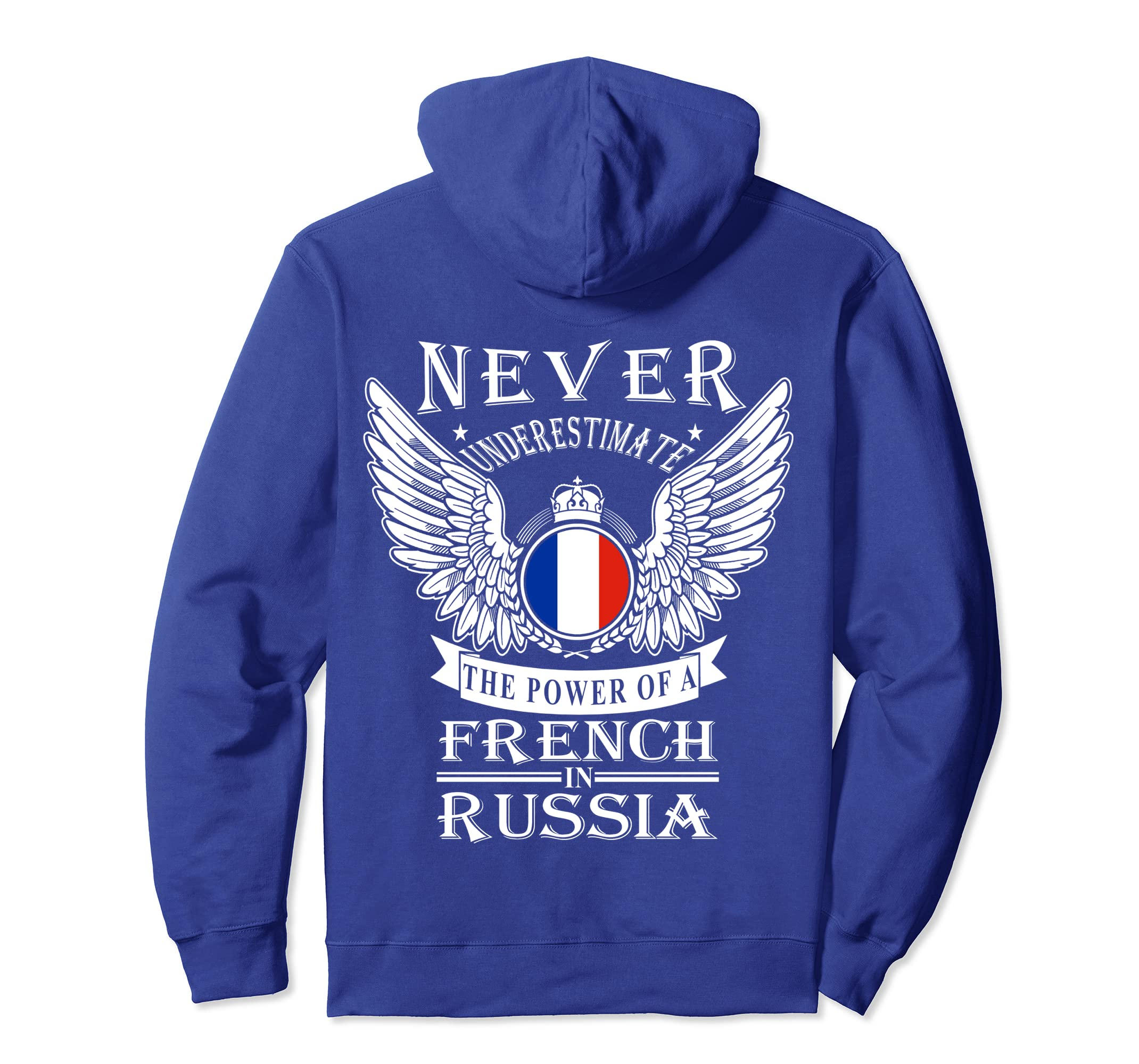 Amazon.com  French in Russia Pullover Hoodie for Men  Clothing 71233bdd34