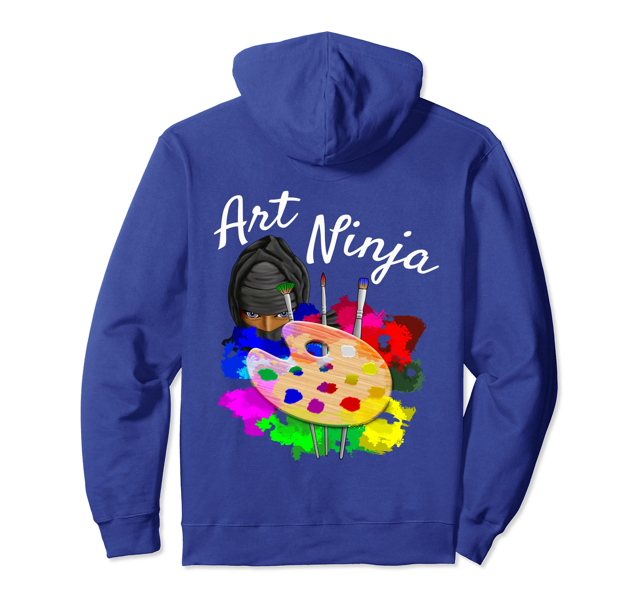 Amazon.com: Art Ninja Artist Pullover Hoodie: Clothing