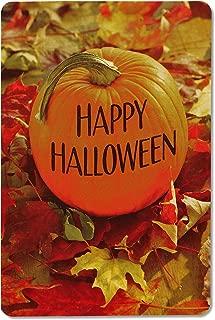 American Greetings Halloween Card Pack, Pumpkin (6-Count)