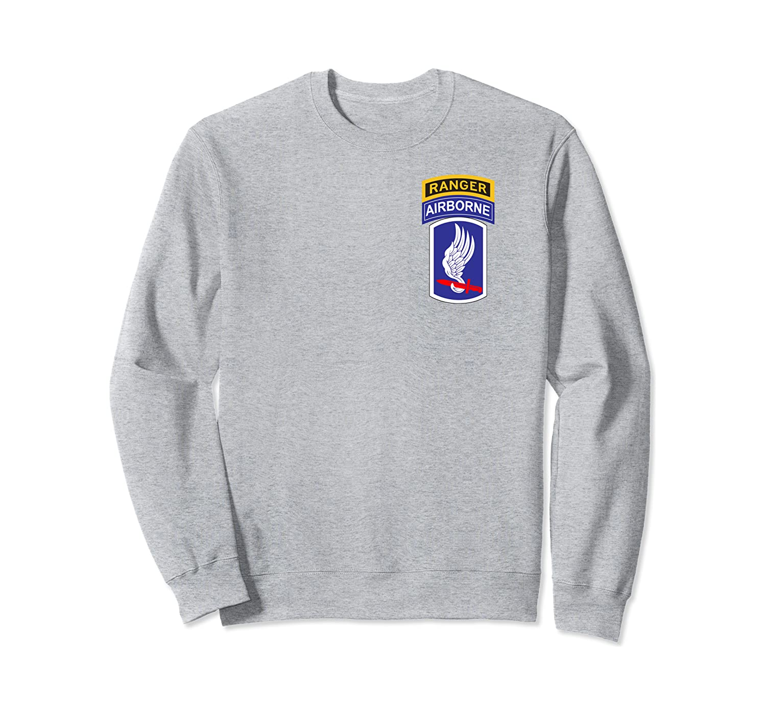 173rd Airborne Patch and Ranger Tab  Sweatshirt