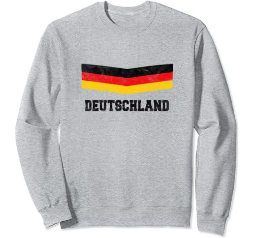 Germany Vintage German Flag Deutschland Logo Sweatshirt