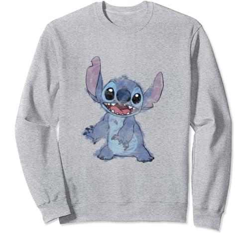 Disney Lilo & Stitch Sketch Stitch Portrait Sweatshirt