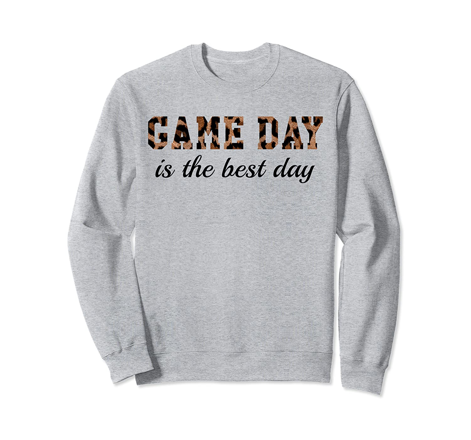 Game Day is the Best Day Shirt,Leopard Print It's Gameday Sweatshirt-TH