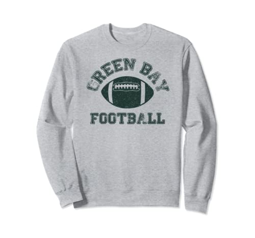Green Bay Distressed Pro Football Team T Shirt Mens Womens Sweatshirt