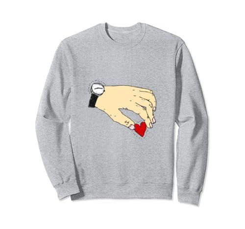 Time For Love Odd Valentine's Sweatshirt
