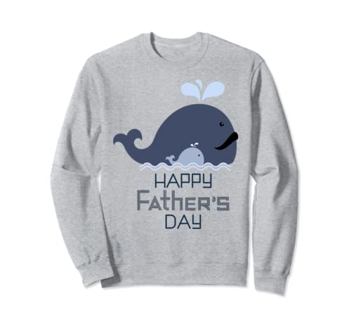 Daddy Whale An Essential Element Father's Day  Sweatshirt