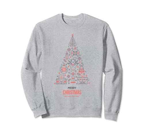 Merry Christmas Jumper Festive  Sweatshirt