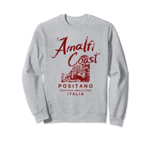 Italy Amalfi Coast Positano Italia Vintage Italian Sweatshirt