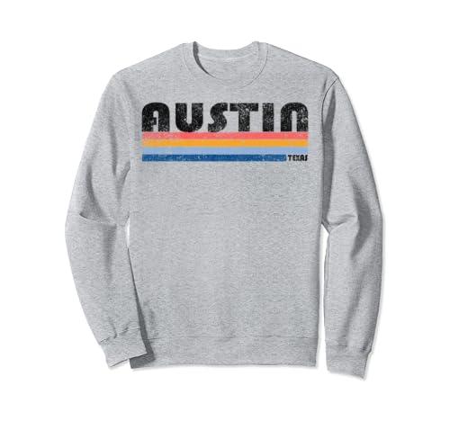 Vintage 1980s Style Austin, Texas Sweatshirt