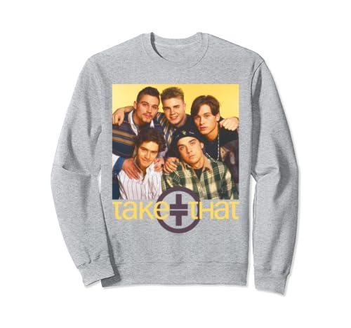 Take That Official Retro 90's Boyband Photo  Sweatshirt