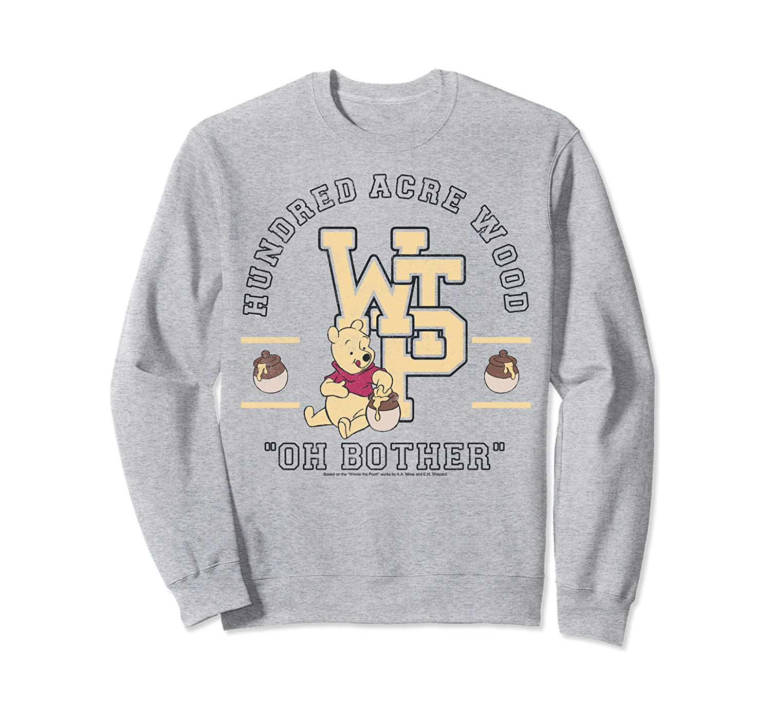 Disney Winnie The Pooh Hundred Acre Wood Oh Bother Sweatshirt