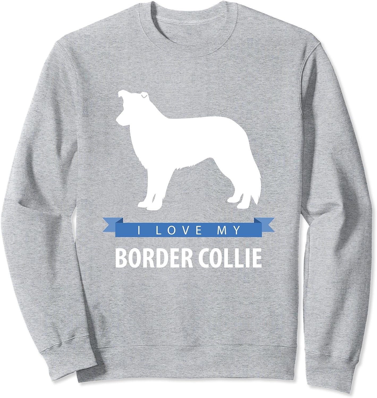 Love My Border Collie Classic Kids Sweatshirt