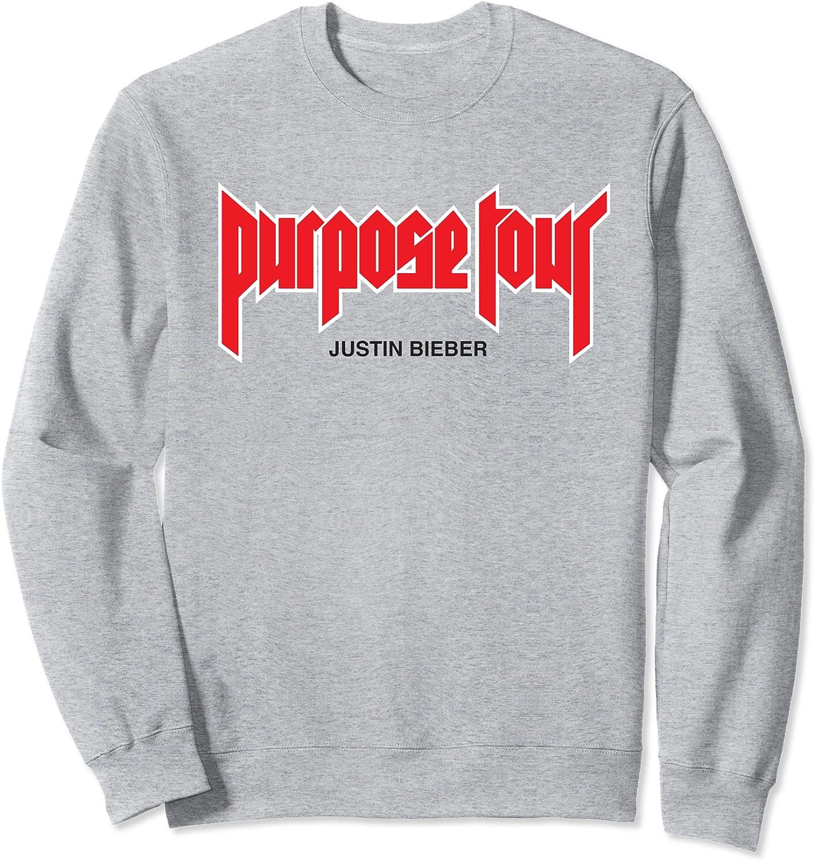 Justin Bieber Purpose Merch Excellent Indefinitely Sweatshirt Tour