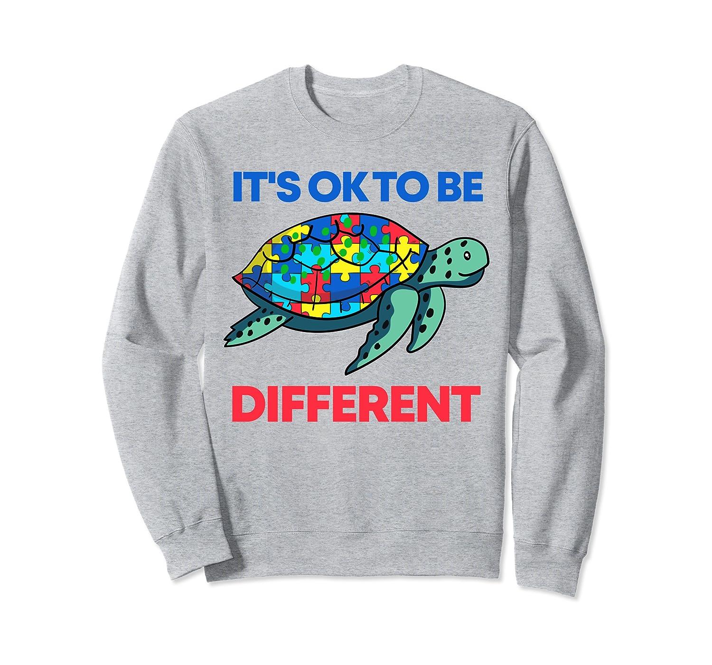 Autism Awareness Cute Turtle Color Puzzles Sweatshirt Unisex Tshirt