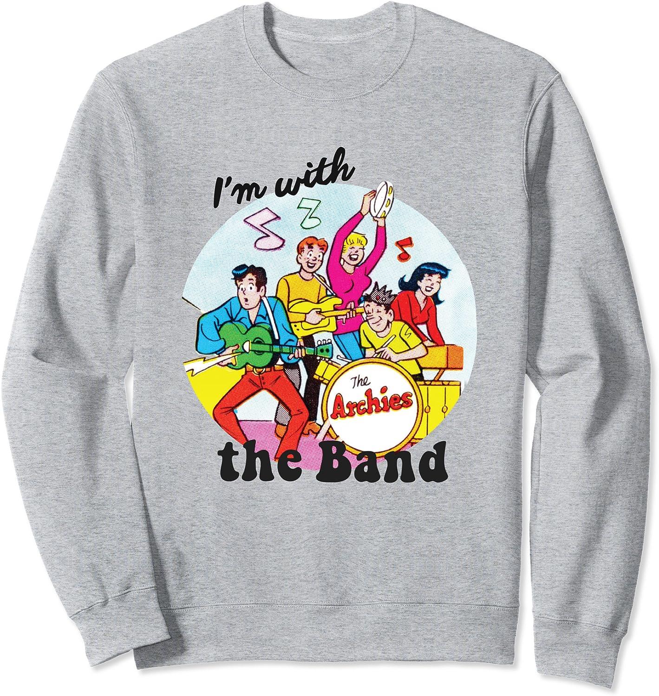 Im With The Band Archie Comics Sweatshirt
