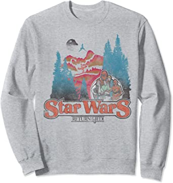 Star Wars Vintage Return Of The Jedi Poster Sweatshirt