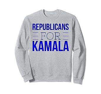 0c47787b1ac Amazon.com  Republicans For Kamala Sweatshirt