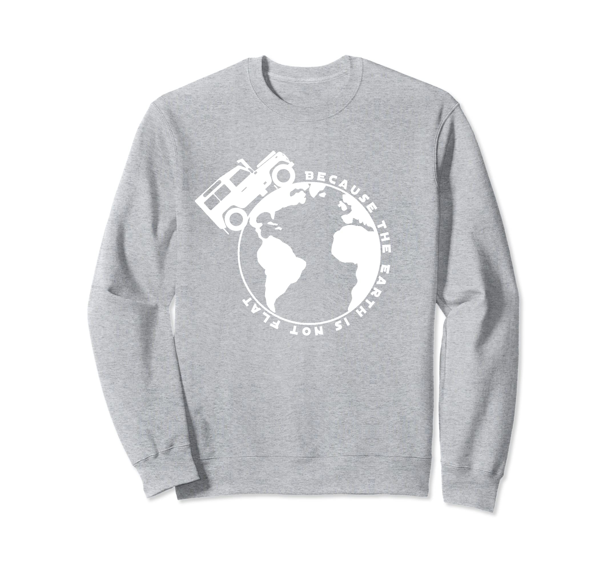 4x4 Sweatshirt Earth Rover-Rose