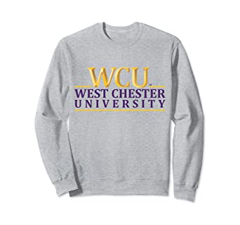 Amazon.com  West Chester Univ. WCU Golden Rams NCAA Sweatshirt ... 343e3cfc3