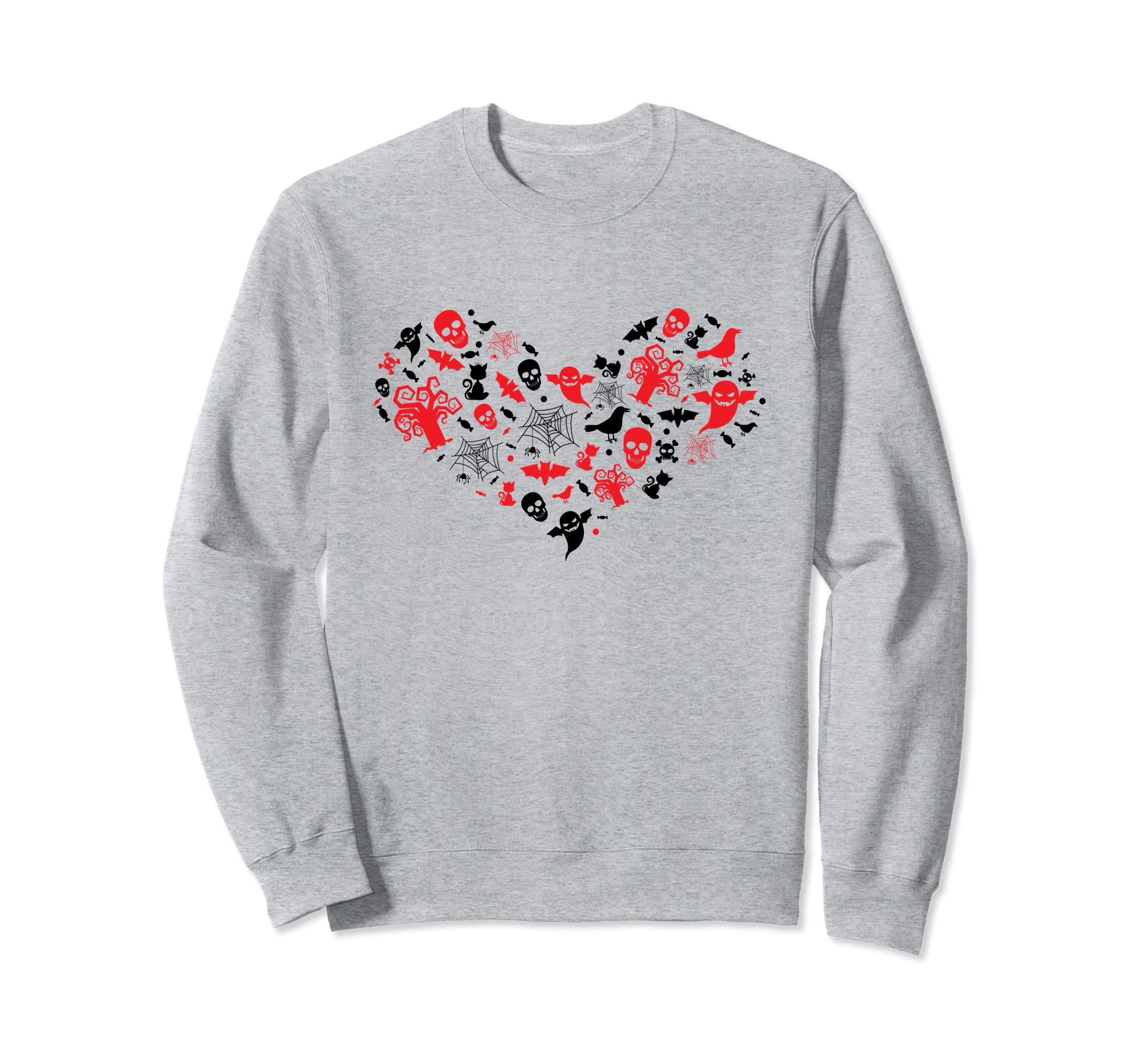 Halloween Sweatshirt I Love Halloween | Horror Heart-ANZ