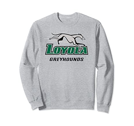 9bc435c3c91 Amazon.com  Loyola U Maryland Greyhounds NCAA Sweatshirt PPLUM01 ...