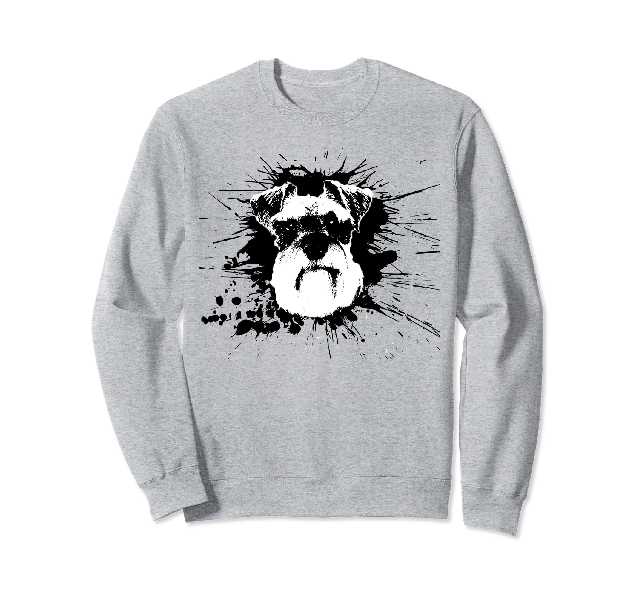Schnauzer HeartBeat Sweatshirt-anz - Anztshirt 1d5cd01d8