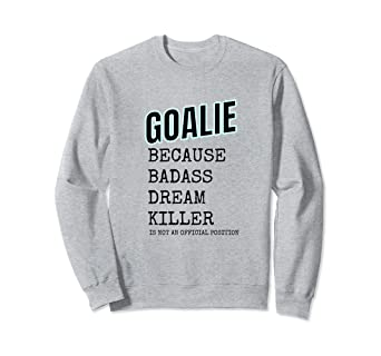 Amazon Com Ice Hockey Goalie T Shirt Hockey Squad Gifts Tee Clothing