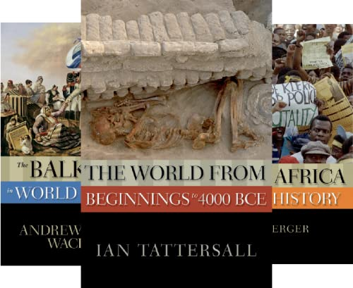 New Oxford World History (23 Book Series)