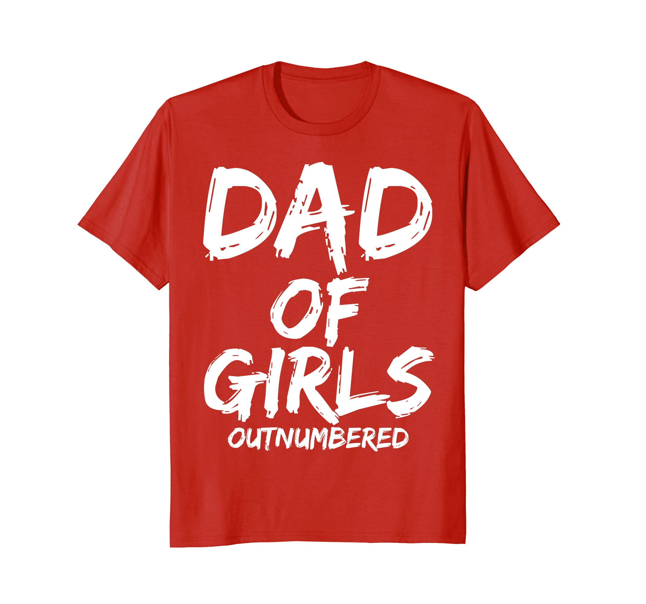 1777e74b Dad of Girls Outnumbered Shirt Funny Girl Father Daughters-ah my shirt one  gift – Ahmyshirt