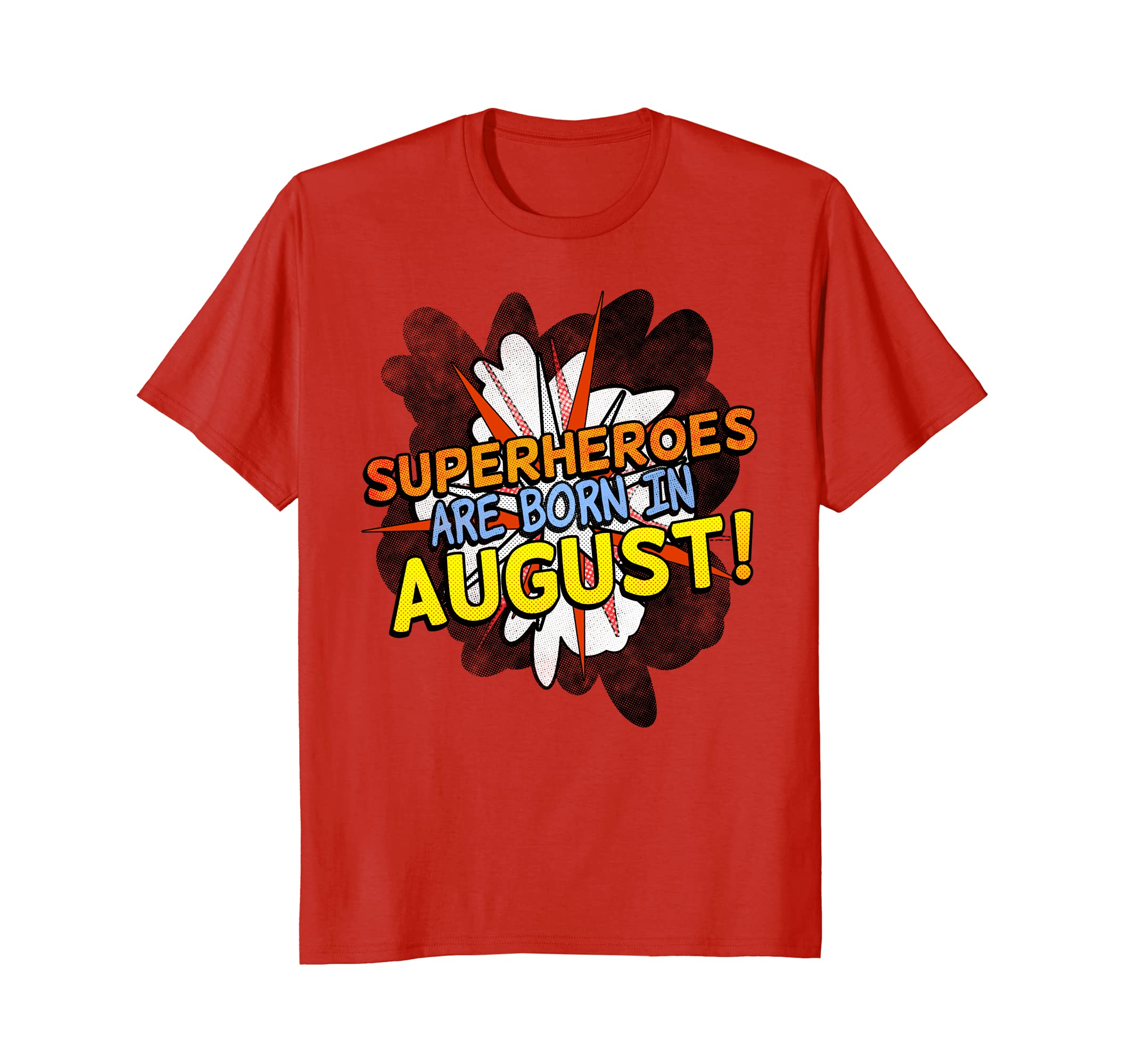 Amazon Superhero Birthday Shirt