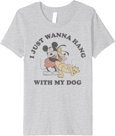 Personalized Dog Shirt Matching Shirts Dog Owner Gift Dog Clothing - I Just Want to Hang With My Dog Shirt Hang With My Human