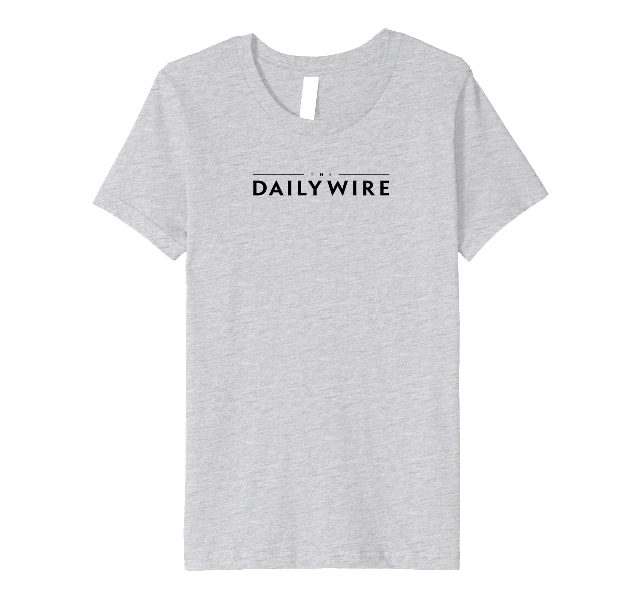 Amazon.com: The Daily Wire Logo T-shirt: Clothing