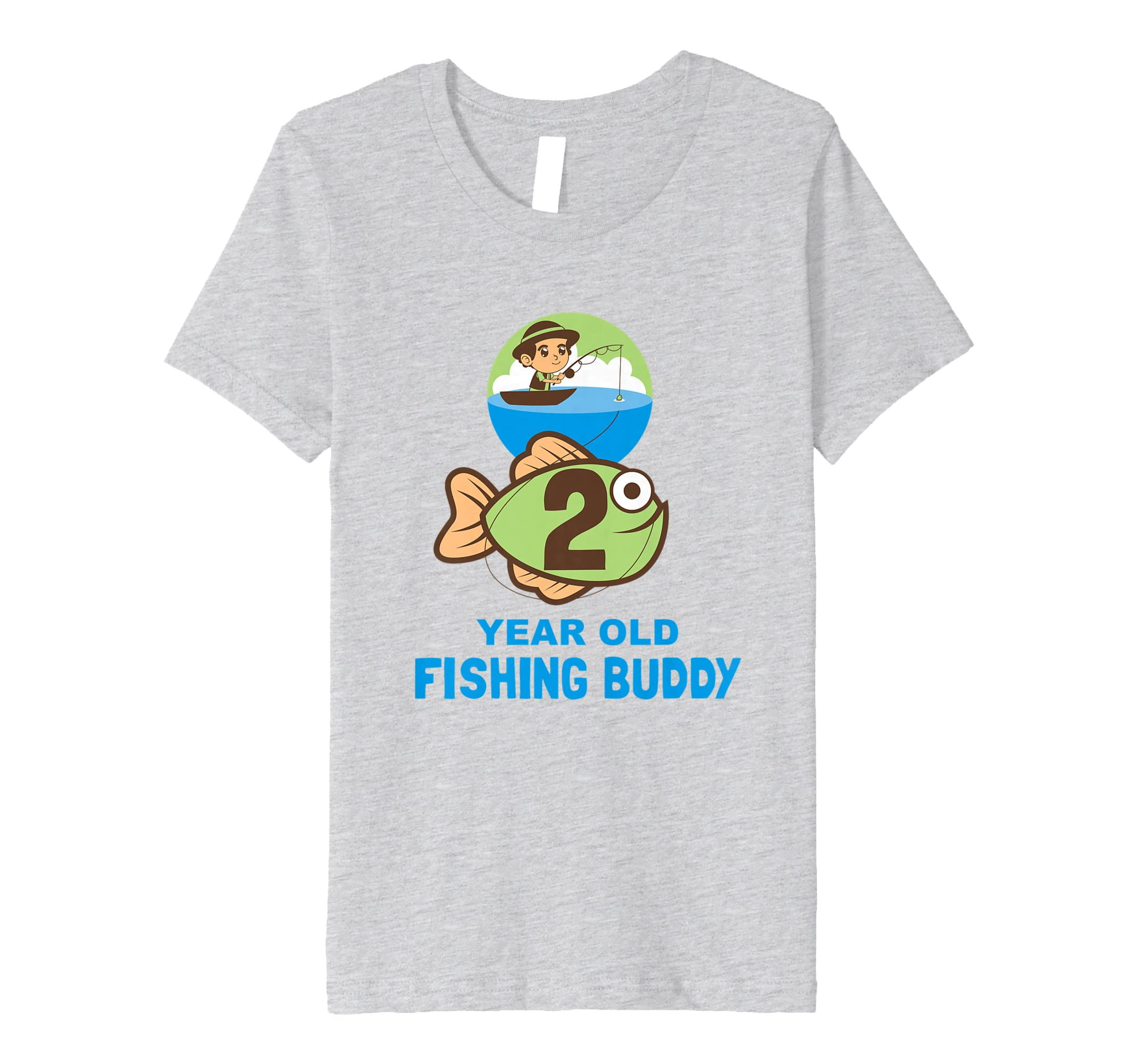 Amazon Kids Fishing Buddy Birthday T Shirt