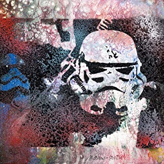 Stormtrooper STAR WARS Dipinto Originale Fatto A Mano