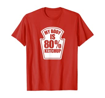 Youth Short Sleeve Graphic T-Shirt Too Much Ketchup