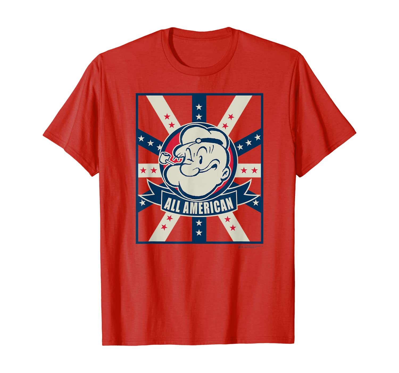 All American Popeye T Shirt 33431