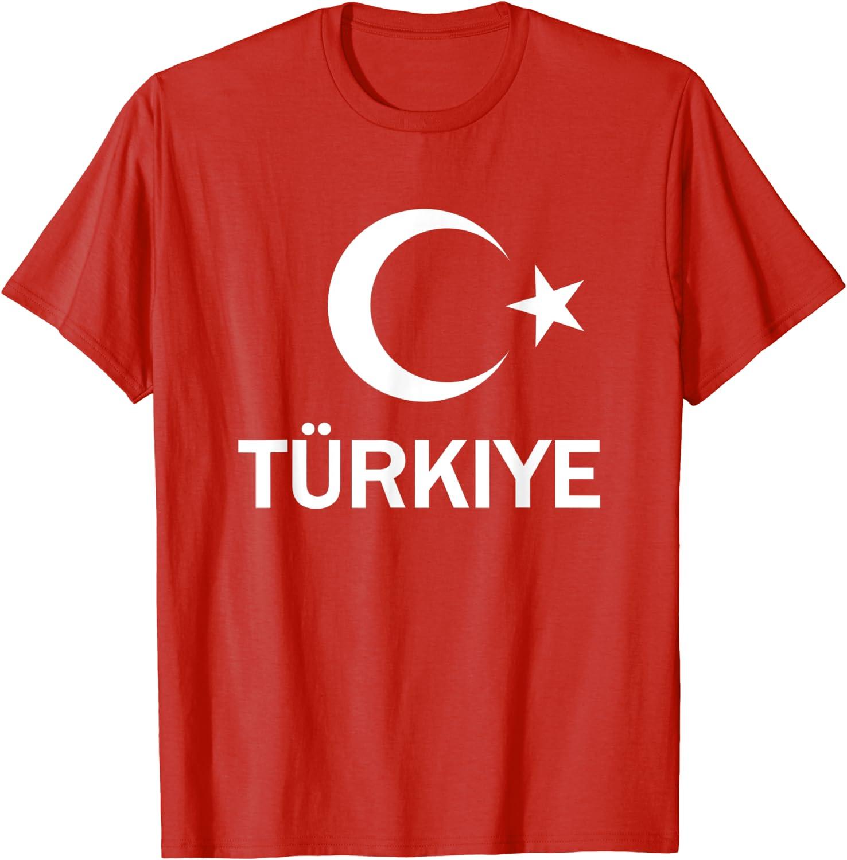 Turkish Flag Türkiye T Shirt Clothing