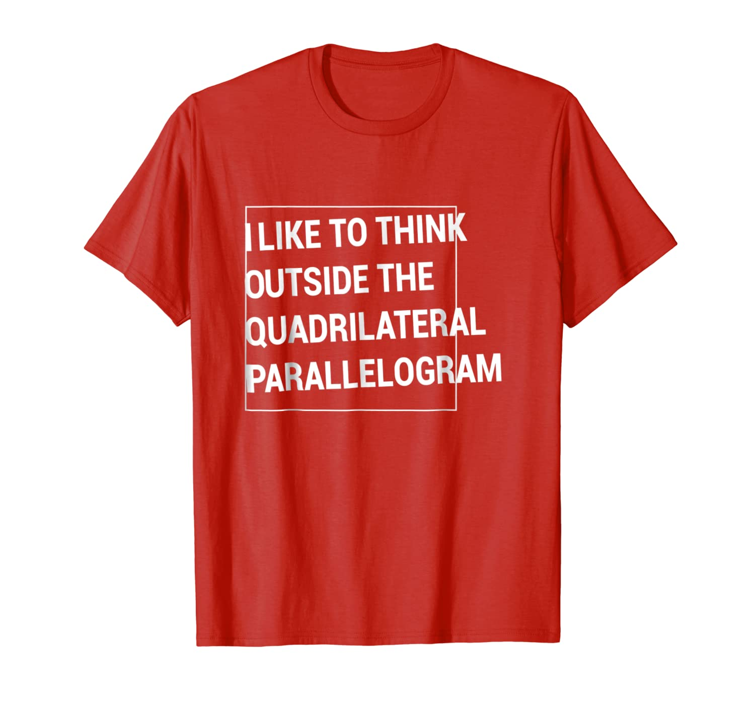 Amazoncom Think Outside The Quadrilateral Parallelogram T