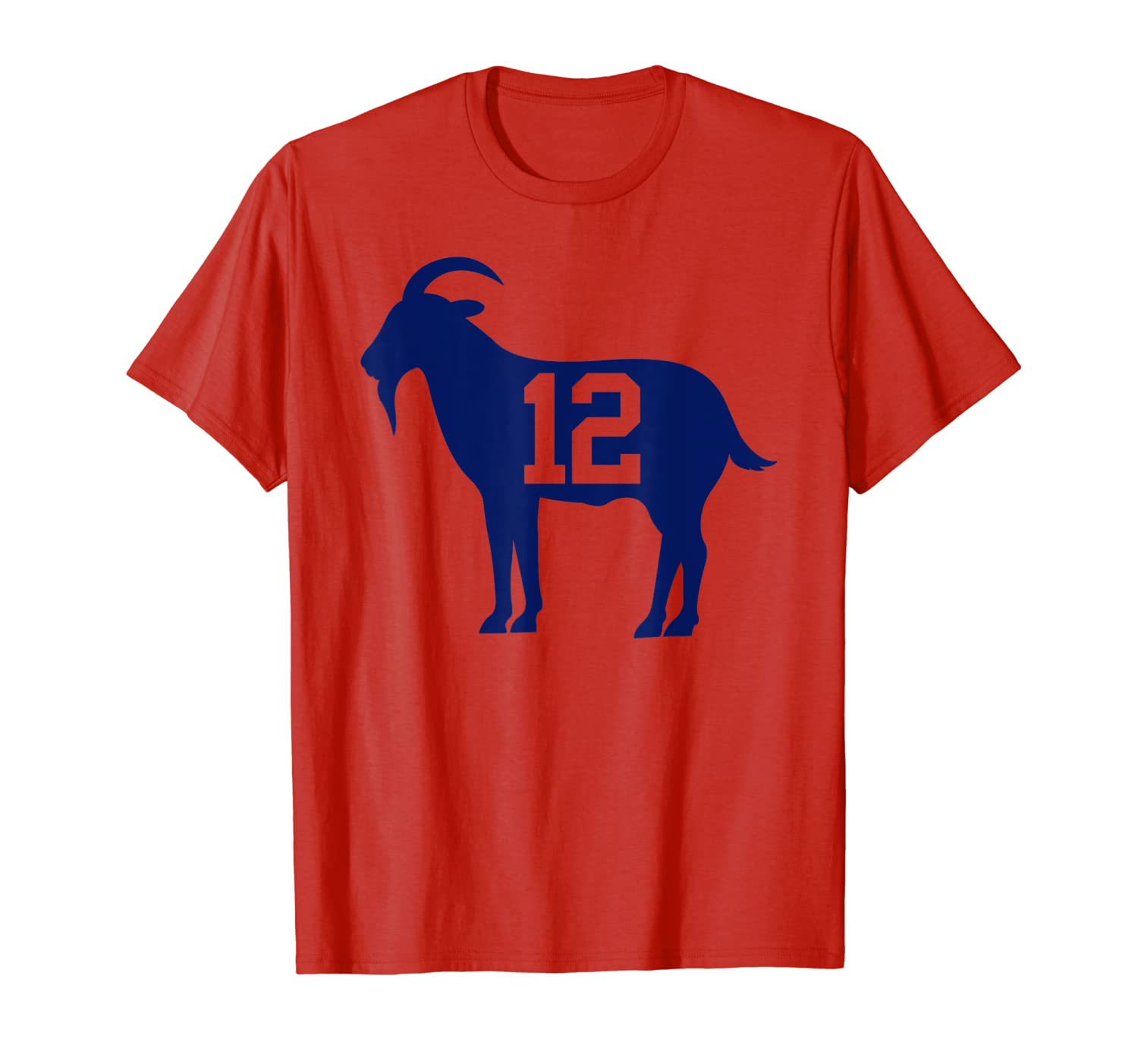 New England Football - GOAT 12 T-Shirt-TH